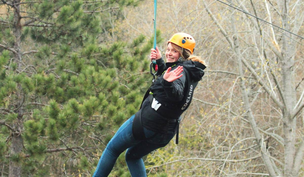 high climbing adventures at Camp Medeba with Yours Outdoors