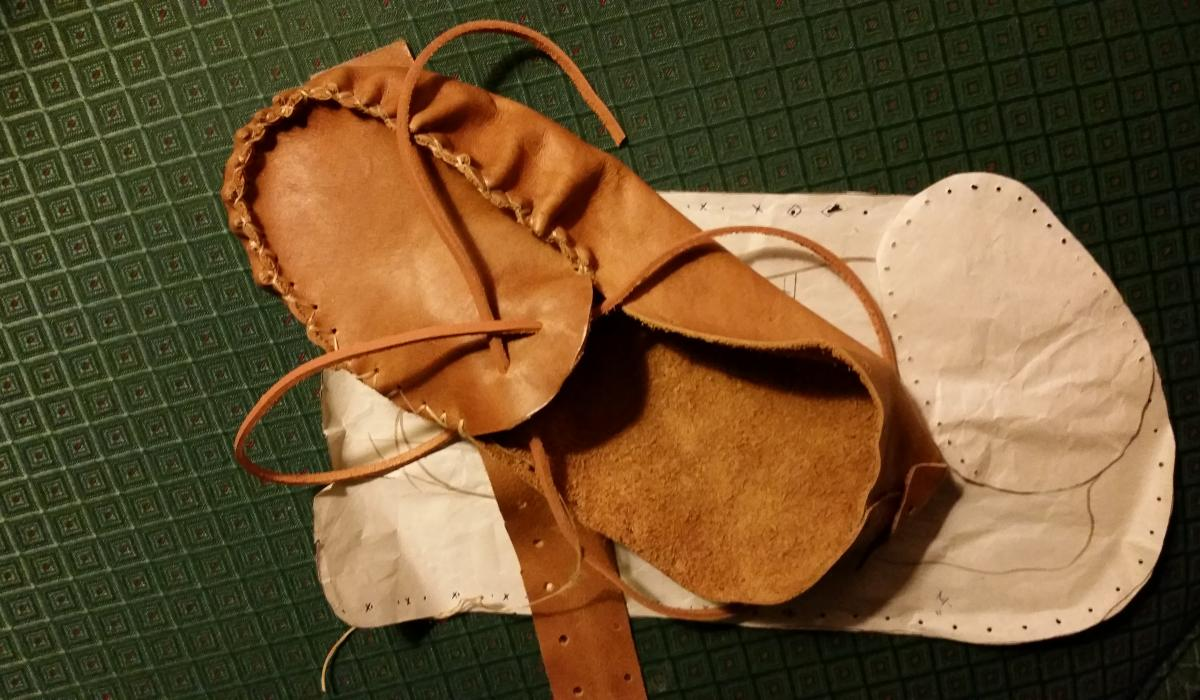 crafts, arts, moccasins, local, Haliburton