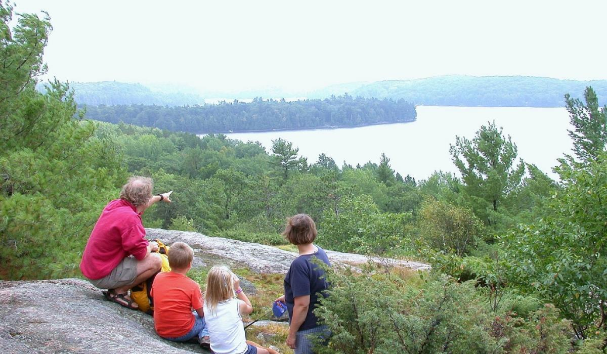 Great vistas in Algonquin Park