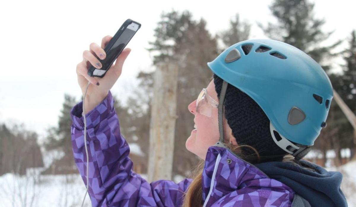 ice climbing , winter , Ontario , Canada , Haliburton Highlands , adventure