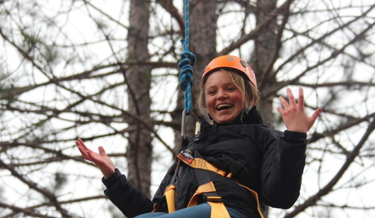 high ropes adventures at Camp Medeba with Yours Outdoors