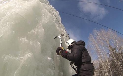 Adventure, ice, explore, winter, camp, sports, climbing