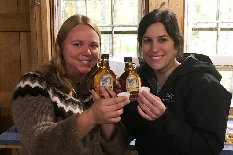 maple syrup  yours in the Haliburton Highlands