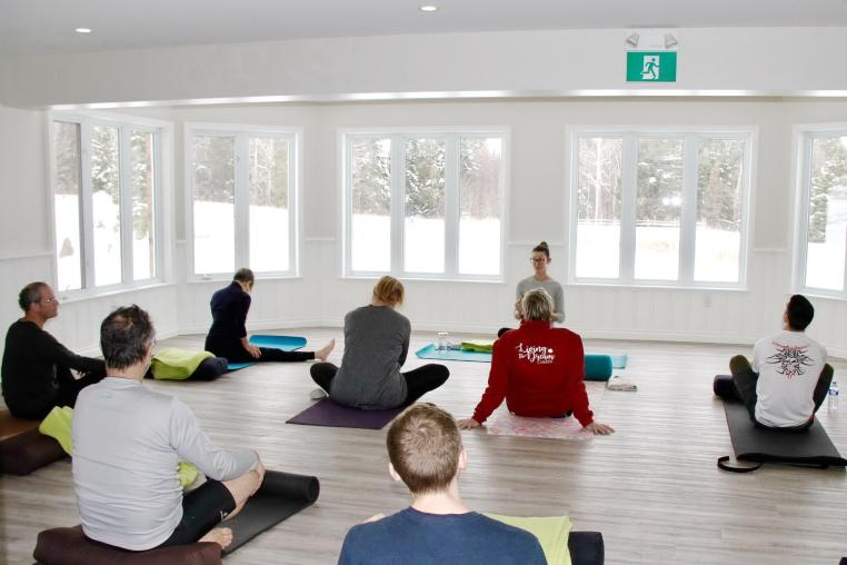Yoga at the Abbey Retreat Centre in the Haliburton Highlands