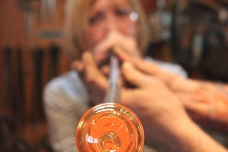 Glass blowing and winter adventure in the Haliburton Highlands