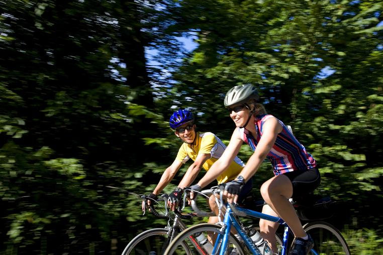 Cycling the back roads of the Haliburton Highlands