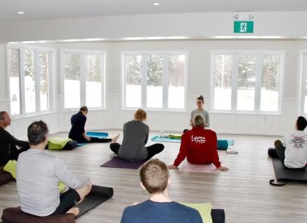 Yoga at the Abbey Retreat Centre in the Haliburton Highlands