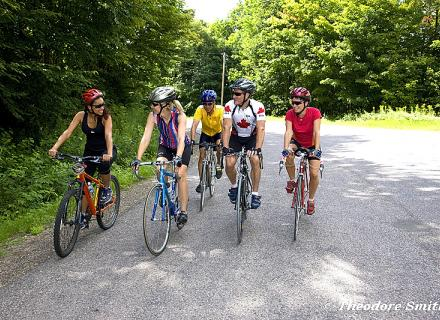 cycling tours in the Haliburton Highlands