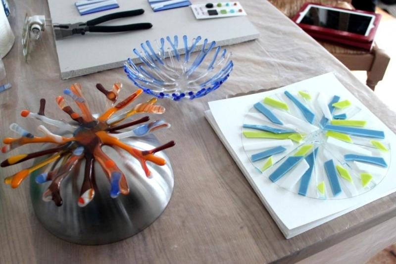 Stages of Glass Fusion
